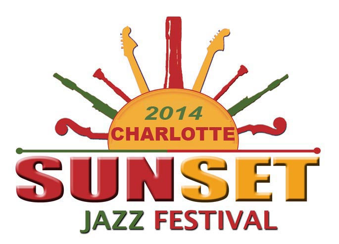CHARLOTTE 2014 Sunset Jazz Festival(s) Logo (revised)